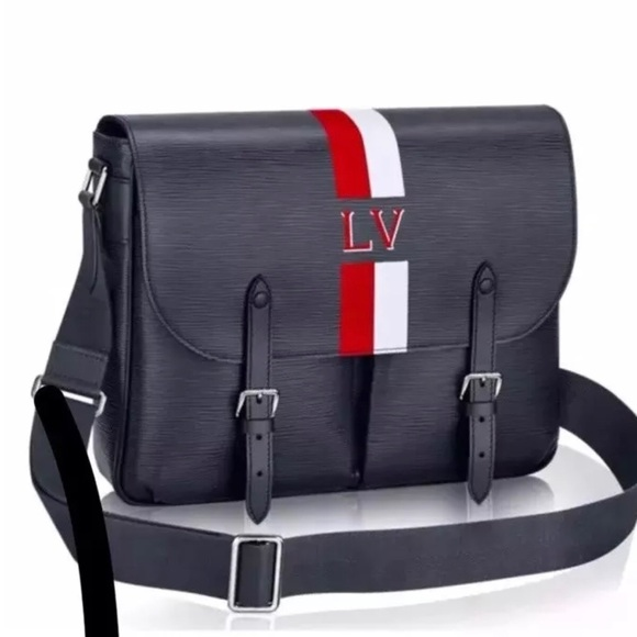 e6889995769 Louis Vuitton Christopher Messenger Epi Lim EDT.